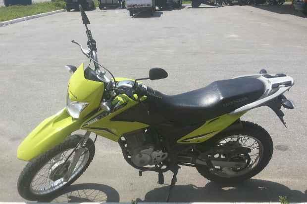 Moto foi roubada em Maceió, no ano passado. Foto: PRF/Divulgação