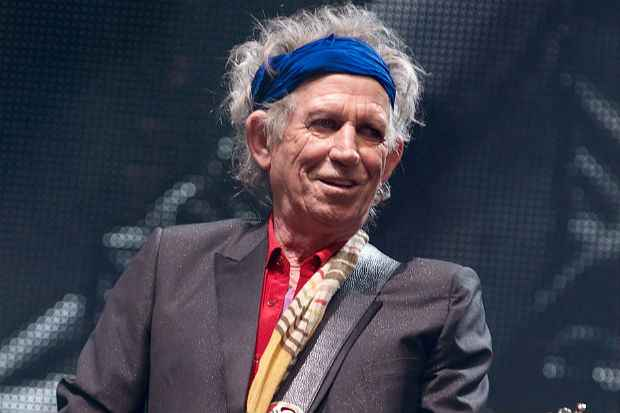 Além de turnê com os Rolling Stones, Richards prepara lançamento de novo disco solo. Foto: AFP Photo
