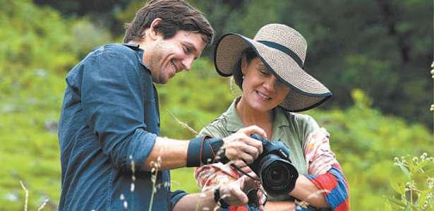 Adriana Esteves e Vladimir Brichta em cena de Real Beleza. Foto: Divulgação