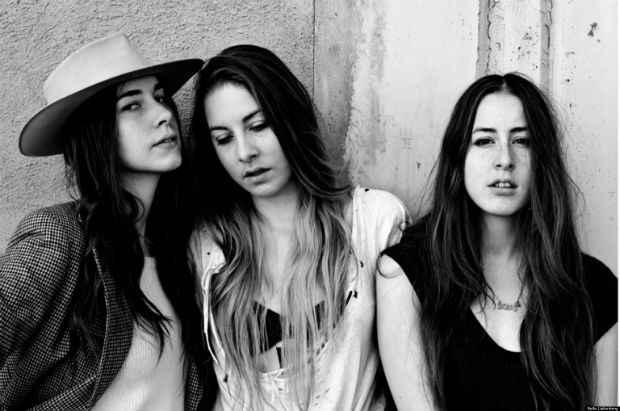 Irmãs californianas do Haim estão confirmadas no festival. Foto: Divulgação
