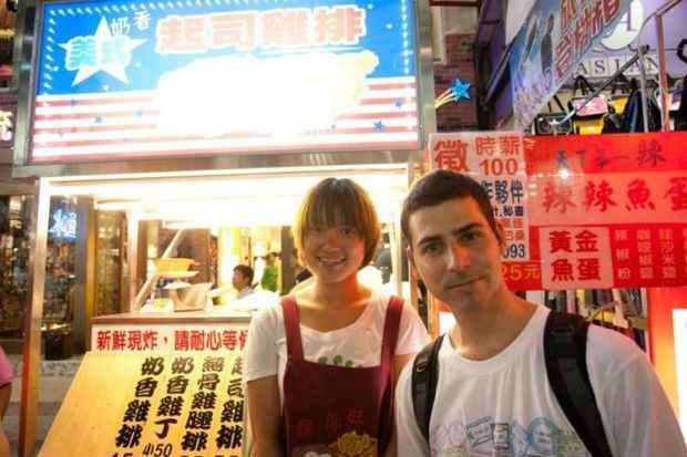 As feiras noturnas são tradição em Taipei. Foto: Arquivo Pessoal