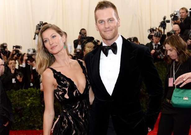 Gisele e Tom Brady estão juntos há seis anos. Casal tem dois filhos. Foto: AFP Photo