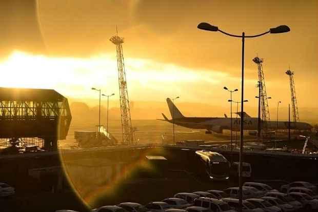 Evento acontece na pista de pouso do aeroporto recifense. Foto: Marcos Pereira/ Divulgação