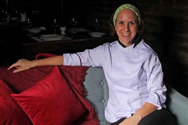 Luciana Sultanum é responsável pelo cardápio franco-italiano. Foto: Roberto Ramos/DP/D.A Press