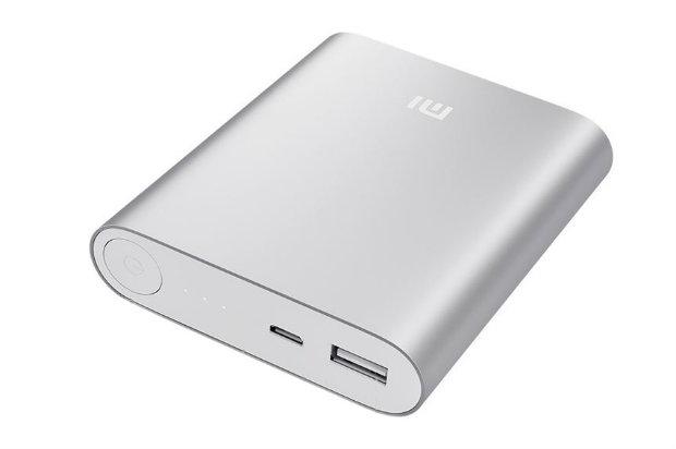 O Mi Power Bank é compatível com smartphones e tablets da Xiaomi, Apple, Samsung, HTC, Google, Blackberry, e ainda câmeras digitais.  Foto: Divulgação/Xiaomi.