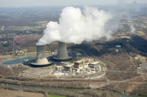 Usina nuclear em Pottstown, Pensilvânia. Foto: Stan Honda/AFP