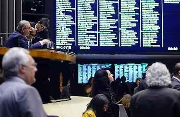 Deputados aprovaram novo índice em votação simbólica. Foto: Gustavo Lima/Câmara dos Deputados