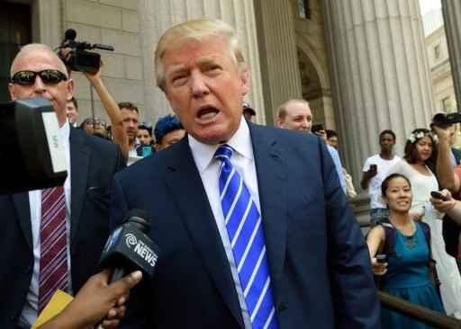 O pré-candidato republicano Donald Trump. Foto:Don Emmert/ AFP