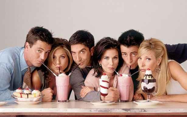 Sitcom Friends mostrava cotidiano de Chandler, Rachel, Ross, Monica, Joey e Phoebe. Foto: NBC/Reprodução