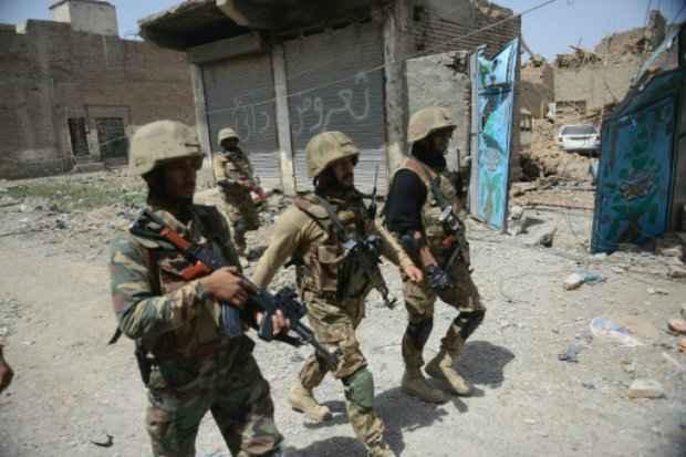 Operação militar contra o talibã na cidade de Miranshah, Waziristão do Norte. (Foto: Aamir Qureshi/AFP Photo)