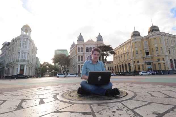 O Recife é referência no país na área de tecnologia. Foto: João Velozo/Esp.DP/D.A Press.