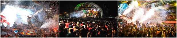 As festas de aparelhagem popularizam o tecnobrega na cena musical local. Fotos: Reprodução