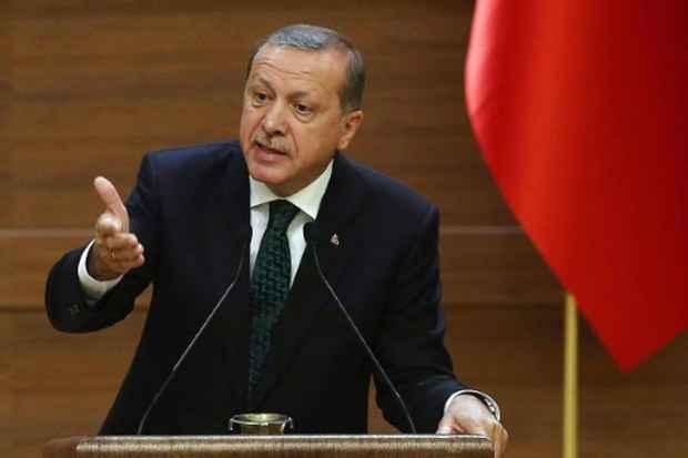O presidente turco, Recep Tayyip Erdogan, no palácio presidencial em Ancara, no dia 12 de agosto de 2015. Foto: Adem Altan/AFP/Arquivos