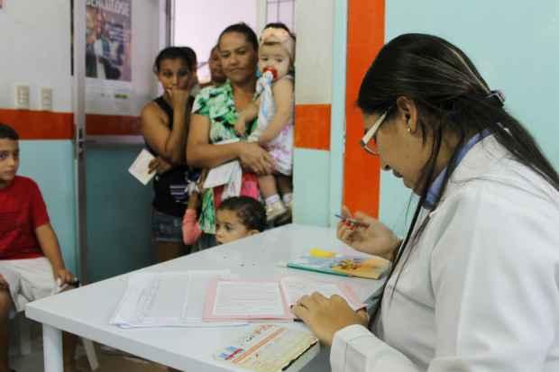 Em Garanhuns, no Agreste, a campanha já imunizou seis mil crianças. Foto: Ruthe Santana/Arquivo/Secom