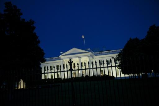 Vista da Casa Branca, em Washington, DC. Foto: Brendan Smialowski/AFP