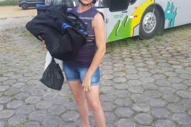 Casal alegou não ter como transportar o bebê. Foto: PRF/Divulgação
