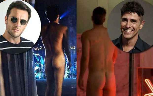 Lombardi inaugurou nudez masculina ainda na estreia e Gianecchini aderiu à onda no episódio da última sexta-feira, 21. Foto: TV Globo/Reprodução