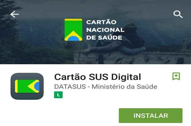 App do Cartão SUS