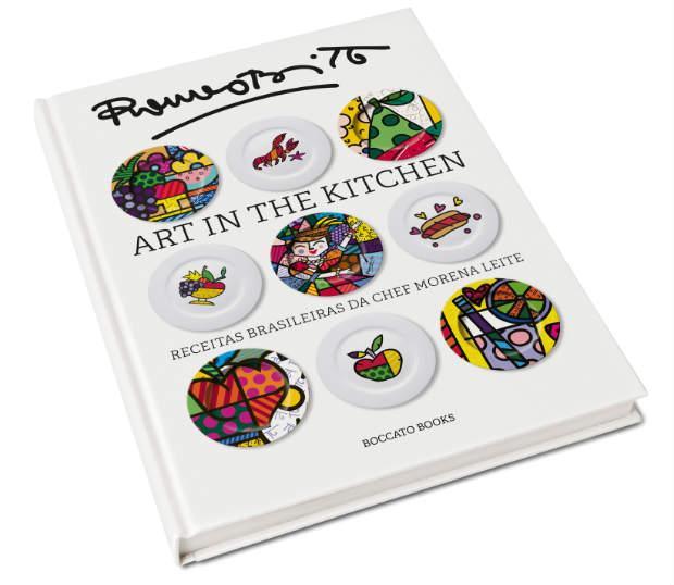 Obra conta com 35 receitas da Chef e 70 ilustrações do artista. Foto: Divulgação