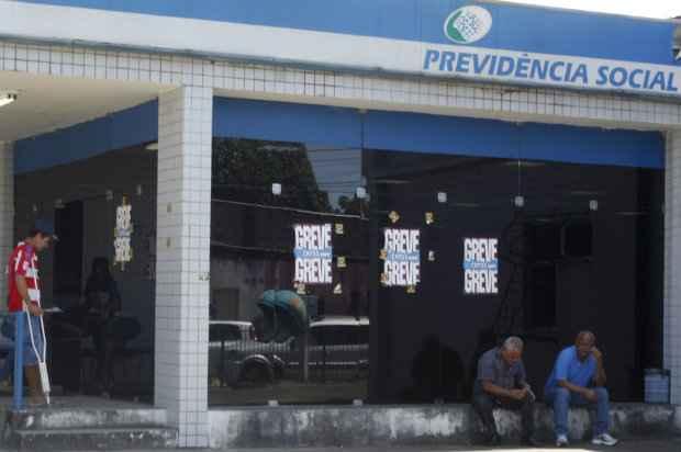 O movimento de entrega de cargos acontece em todo o país, em protesto contra a suspensão do pagamento dos salários de agosto dos grevistas. Foto: Rodrigo Silva/Esp. DP/DA Press.