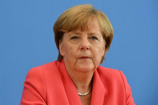 A chanceler alemã, Angela Merkel, participa de coletiva de imprensa, em Berlim, no dia 31 de agosto de 2015. Foto: AFP/John Macdougall.