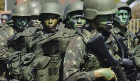 Tropas do Exército vão atuar na Operação Dourados para conter conflito entre indígenas e produtores rurais. Foto: Elza Fiúza/Agência Brasil; Agencia Brasil