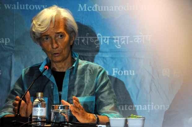 Christiane Lagarde, diretora-gerente do Fundo Monetário Internacional (FMI). Foto: Tasso Marcelo/AFP/Divulgação