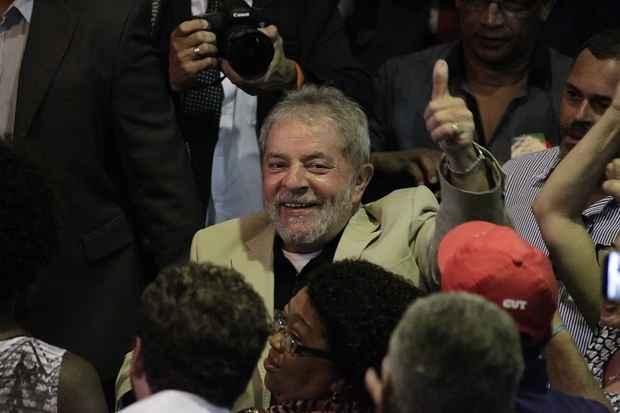 Lula diz que o dever de Dilma Rousseff é governar. Foto: Paulo Campos/Folhapress