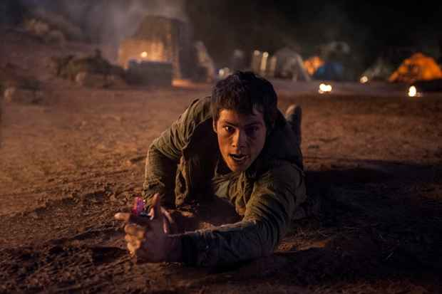 Thomas continua como protagonista e lidera o grupo pelo Deserto. Foto: 20th Century Fox/Divulgação