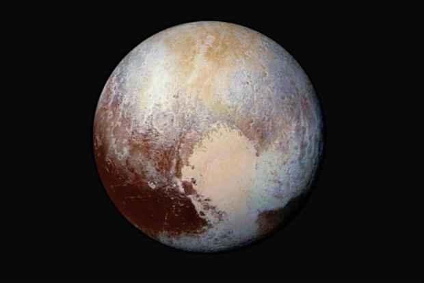 Imagem de Plutão enviada pela sonda New Horizons (Foto: NASA/AFP Handout)
