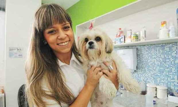 A veterinária Fabiana Reis alerta que todo exagero é ruim. Foto: Jair Amaral/EM/D.A Press