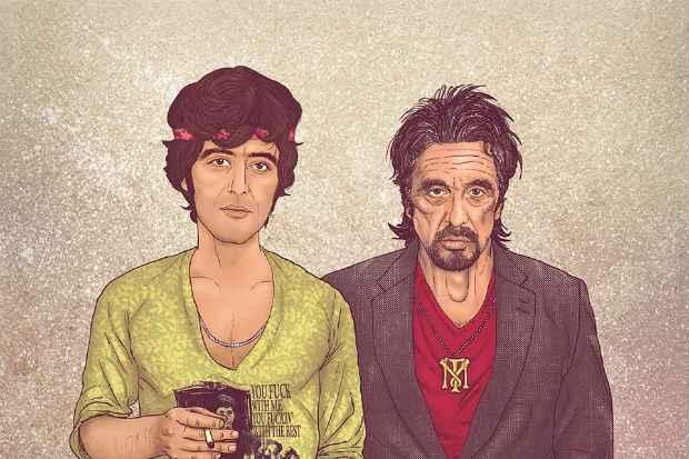 Al Pacino, conhecido pelo papel de Scarface. Foto: Facebook/Reprodução