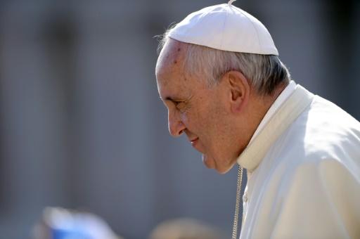 O papa Francisco, no Vaticano, no dia 9 de setembro de 2015. Foto: Filippo Monteforte/ AFP