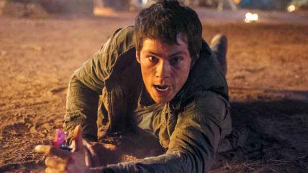 Dylan O'Brien em cena de Maze Runner: Prova de Fogo. Foto: Divulgação