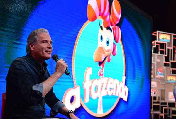 Roberto Justus estreia como apresentador do reality show - Foto: Record/Divulgação (Foto: Record/Divulgação)
