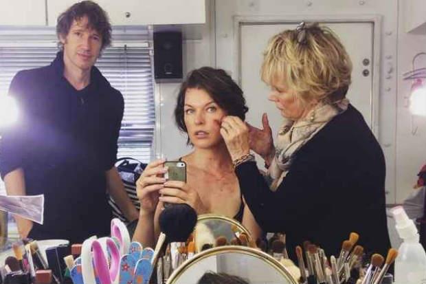 Gravações do sexto e último filme já tiveram início e acontecem na África do Sul. Milla Jovovich compartilhou recentemente sua preparação. Foto: Instagram/Reprodução