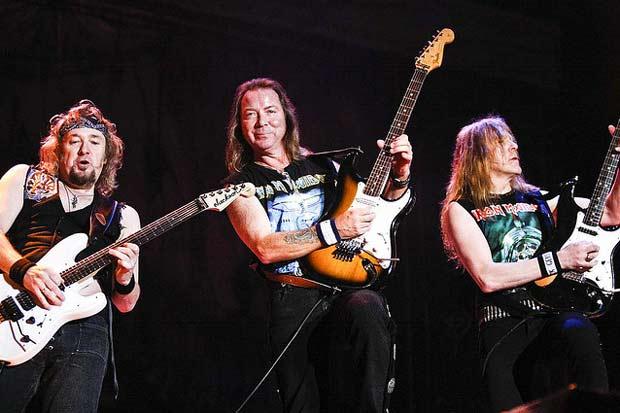 De acordo com a pesquisa,  bandas como Iron Maiden podem auxiliar no combate à depressão. Foto: adels/Flickr/Reprodução