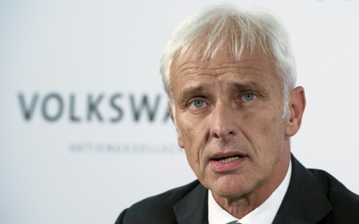 Matthias Mueller assumiu a presidência do grupo na sexta. Foto: John Macdougall/AFP