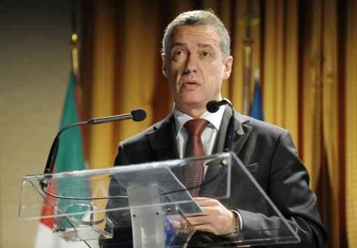 Iñigo Urkullu fez solicitação neste domingo. Foto: Iroz Gaizka/AFP