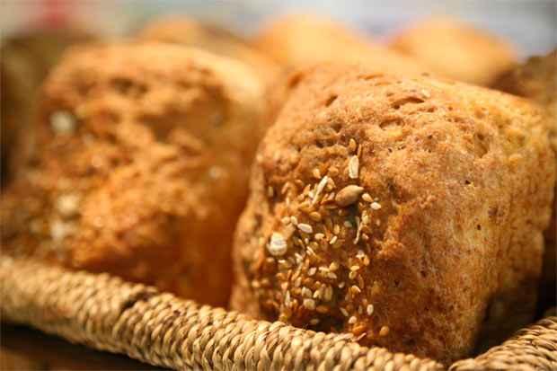 Nos pães, o glúten mantém os gases no processo de fermentação, conferindo volume e maciez.Foto: Hesiodo Goes/Esp. DP/D.A. Press