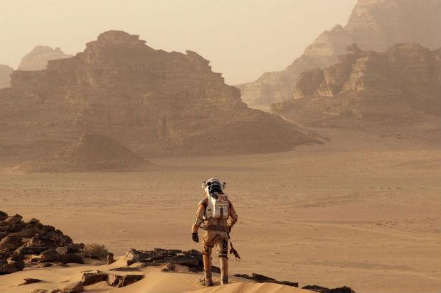 Matt Damon interpreta (mais uma vez) astronauta perdido em filme de Ridley Scott. Foto: YouTube/Reprodução