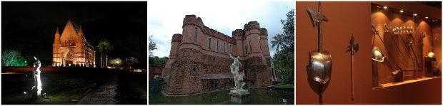 O espaço reúne biblioteca, pinacoteca, galeria, capela e parque de esculturas. Fotos: Arquivos DP