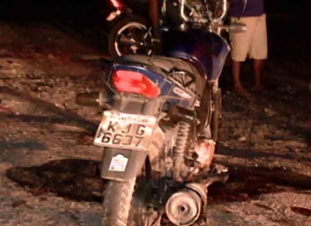 Motociclista morreu degolado por um linha de pipa com cerol., na BR-101, na Guabiraba