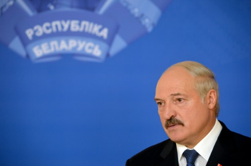 Alexandre Loukachenko enfrenta crise econômica. Foto: AFP Maxim Malinovsky