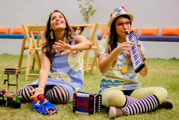 As irmãs Mariane e Milla Bigio apresentam o espetáculo Cordel Animado no Parque de Santana às 10h