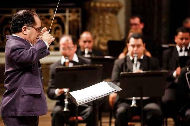 Banda Sinfônica realiza concertos mensais gratuitos no Recife. Foto: Divulgação