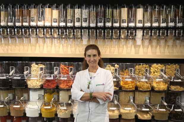 A nutricionista Alessandra Luglio explica a importância de a alimentação ser individualizada (Hesíodo Góes/Esp. DP/D.A. Press)