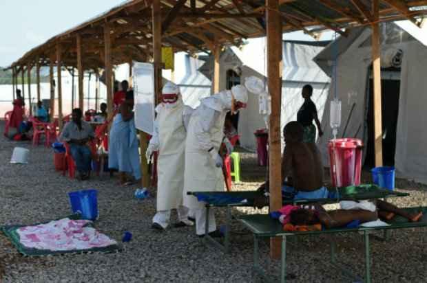 Posto de tratamento do Ebola, em Kenema, Serra Leoa, no dia 15 de novembro de 2014. Foto: AFP/Arquivos Francisco Leong.