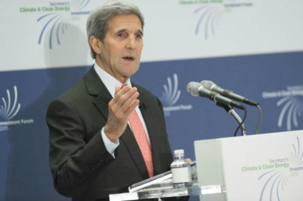 O secretário de Estado americano, John Kerry, em Washington, DC, no dia 20 de outubro de 2015. Foto:  AFP/Saul Loeb.