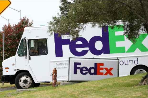 A UE deve aprovar a operação de 4,4 bilhões de euros pela qual a gigante FedEx comprará a concorrente holandesa TNT Express. Foto: Getty/AFP/Arquivos Justin Sullivan